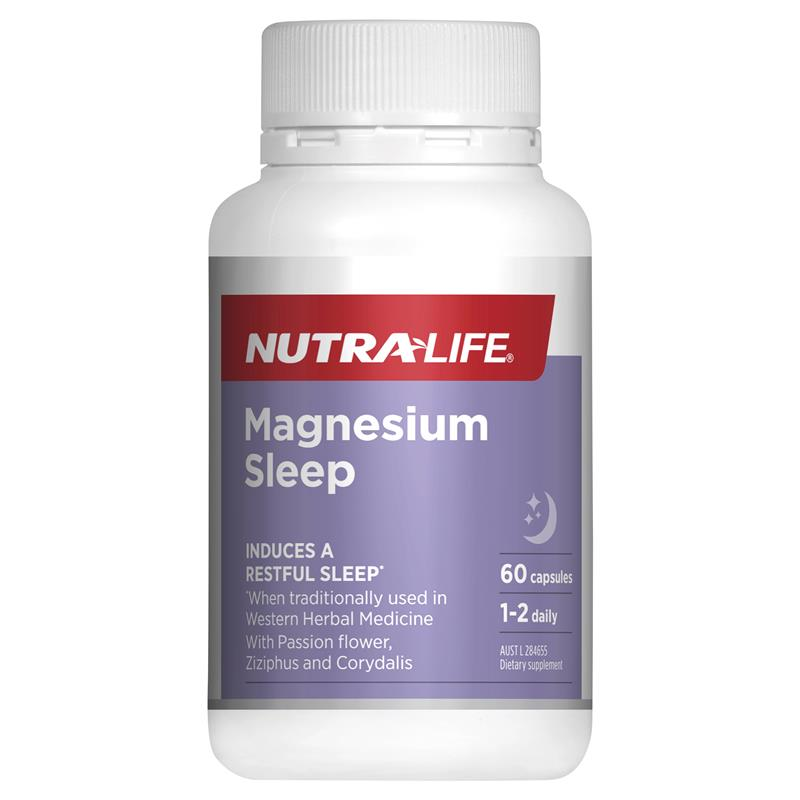 Nutra-Life Magnesium Sleep 60 Capsules at Chemist Warehouse in Campbellfield, VIC | Tuggl