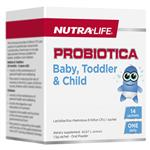 Nutra-Life Probiotica Baby + Toddler + Child 14 Sachets