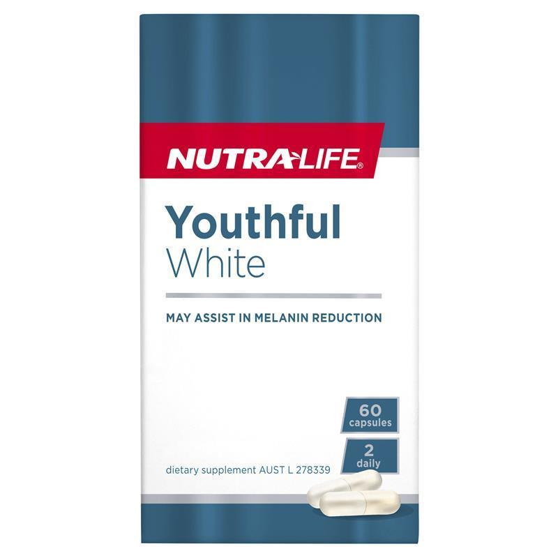 Nutra-Life Youthful White 60 Capsules | Tuggl