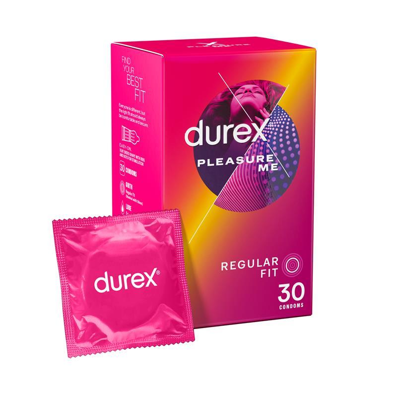Durex Pleasure Me Condoms 30 Pack | Tuggl