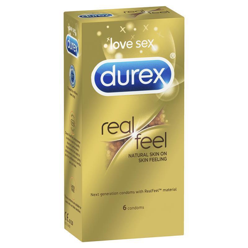 Durex Real Feel Condoms 6 Pack | Tuggl