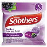 Soothers Blackcurrant 3x10 Lozenge Multipack