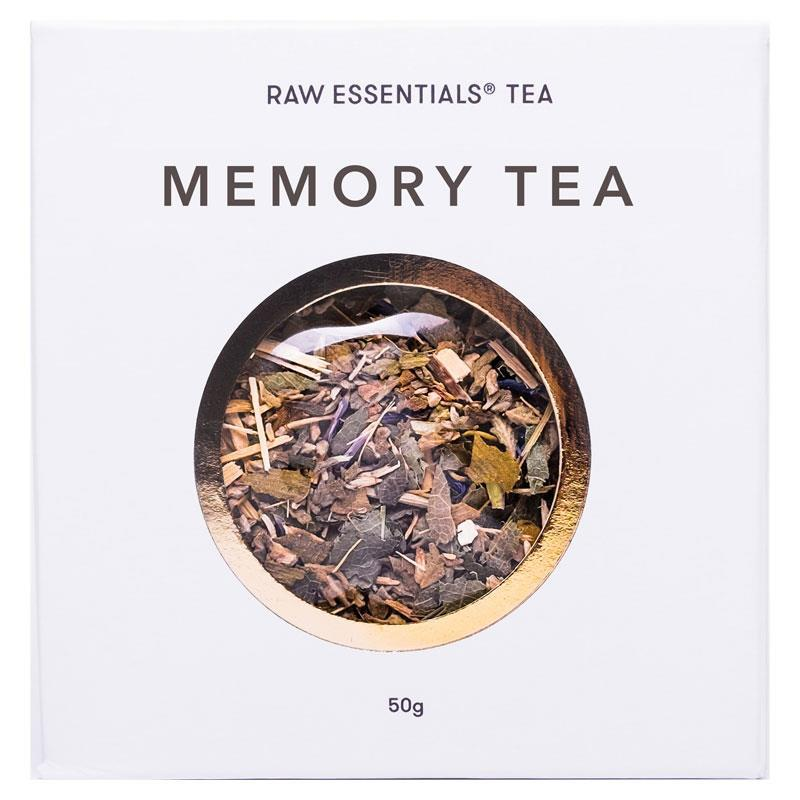 Raw Essentials Memory Blend Loose Leaf Tea | Tuggl