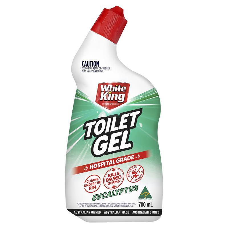 White King Powerclean Toilet Gel Eucalyptus 700ml | Tuggl