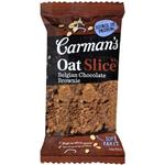 Carmans Belgian Chocolate Brownie Oat Slice 70g
