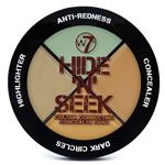 W7 Hide and Seek Concealer Palette Green