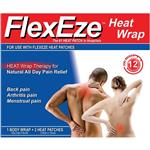 FlexEze Heat Wrap 2 Heat Patches + 1 Body Wrap