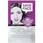 Essenzza Fuss Free Naturals Refresh & Revive Silk Facial Treatment Mask