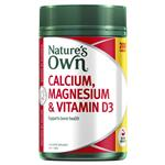 Nature's Own Calcium, Magnesium & Vitamin D3 - Contains Vitamin D - 200 Tablets Exclusive