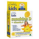 Kids Sunshine D Plus Vitamin D 12 Lozenges