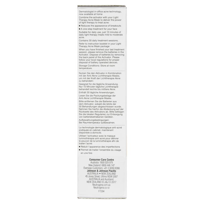 077591e7225 Buy Neutrogena Light Therapy Acne Mask Activator 30 Treatments ...