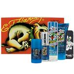 Ed Hardy Love & Luck for Men Eau de Toilette 100ml Spray 5 Piece Set