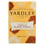 Yardley Limited Edition Vanilla and Sugar Cream Soap 120g