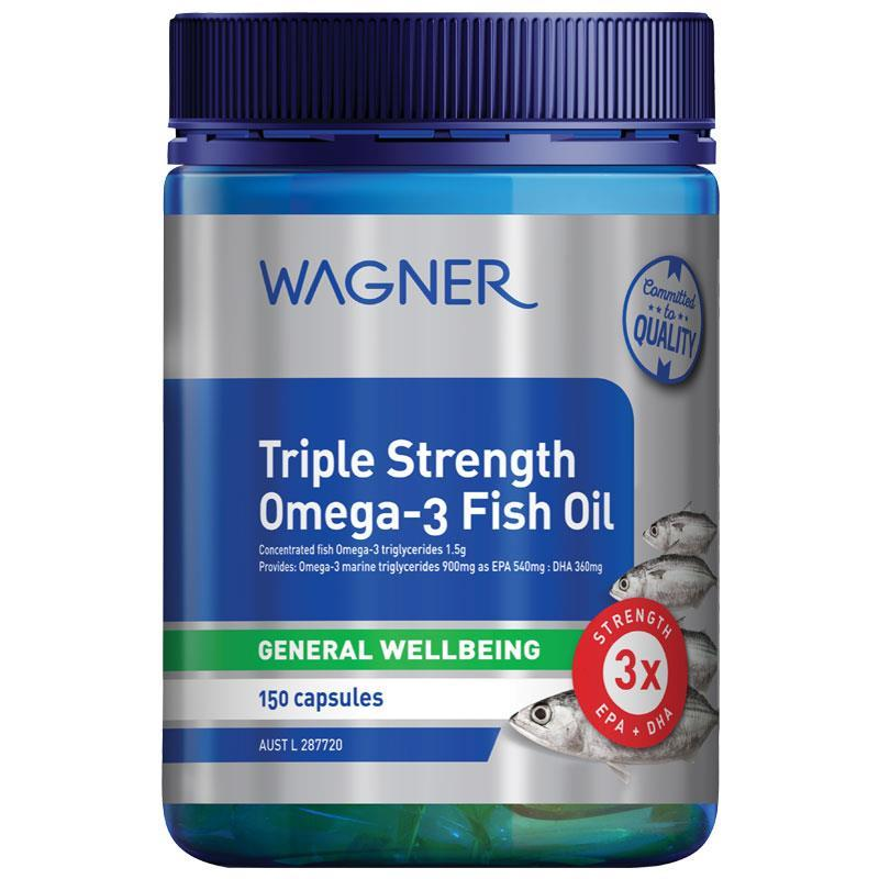 Wagner Triple Strength Omega-3 Fish Oil 150 Capsules at Chemist Warehouse in Campbellfield, VIC | Tuggl