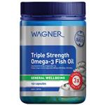 Wagner Triple Strength Omega-3 Fish Oil 150 Capsules