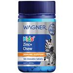 Wagner Kids Zinc Plus Chewable 100 Tablets