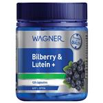 Wagner Bilberry & Lutein+ 120 Capsules
