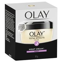 Olay Total Effects 7 In One Night Cream Moisturiser 50g by Olay