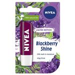 Nivea Lip Care Blackberry Shine 4.8g