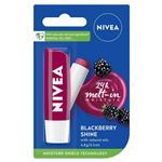 Nivea Lip Care Blackberry Shine 4.8g
