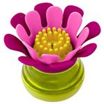Boon Forb Mini Palm Dish Brush Pink Online Only