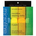 Microfibre Cleaning Cloths 4 Pack