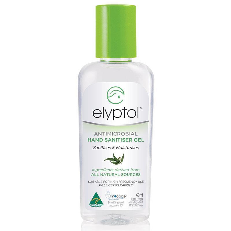 Buy Elyptol Antimicrobial Hand Sanitiser Gel 60ml Online At