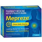 Mepreze 20mg 7 Tablets