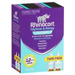 Rhinocort Hayfever & Allergy Original 32mcg Nasal Spray Twin Pack 2 x 120 doses