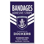 AFL Bandages Fremantle Dockers 20 Pack