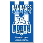 AFL Bandages North Melbourne Kangaroos 20 Pack
