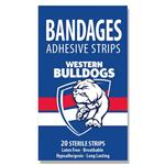 AFL Bandages Western Bulldogs 20 Pack