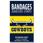 NRL Bandages Cowboys 20 Pack