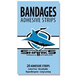 NRL Bandages Cronulla Sharks 20 Pack