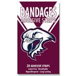 NRL Bandages Manly Warringah Sea Eagles 20 Pack