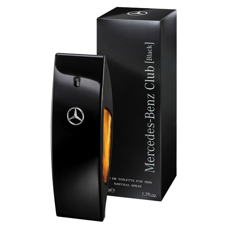 buy mercedes benz club black eau de toilette 50ml spray. Black Bedroom Furniture Sets. Home Design Ideas