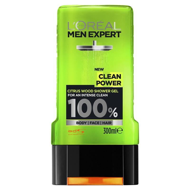 Merveilleux Lu0027Oreal Men Expert Shower Gel Clean Power 300ml