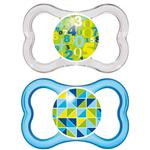 Mam Air Soothers 4-24 Months 2 Pack Online Only