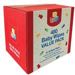 Go Baby Wipes 6x80 Value Pack
