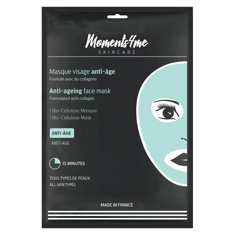 Moments4Me Bio Cellulose Anti-Ageing Face Mask | Tuggl