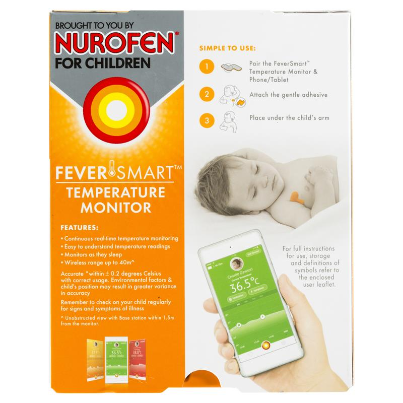 Buy Feversmart Temperature Monitor Thermometer By Nurofen For