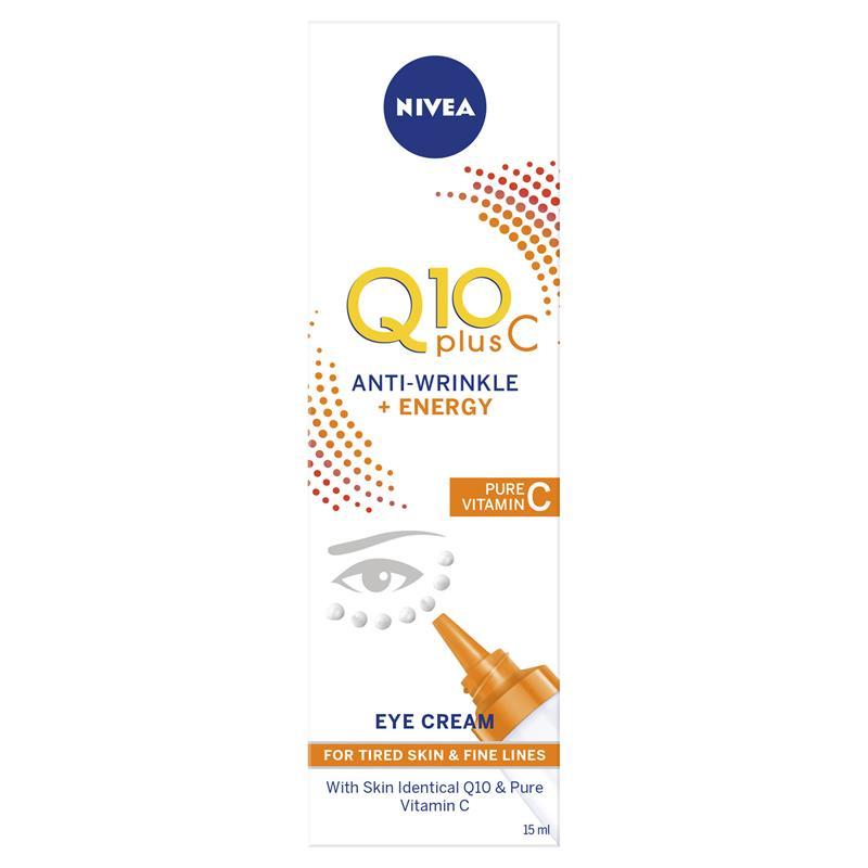 니베아 Q10 + 비타민 C 아이크림..