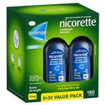 Nicorette Quit Smoking Cooldrops Lozenges Extra Strength Icy Mint 4mg 160 Pieces