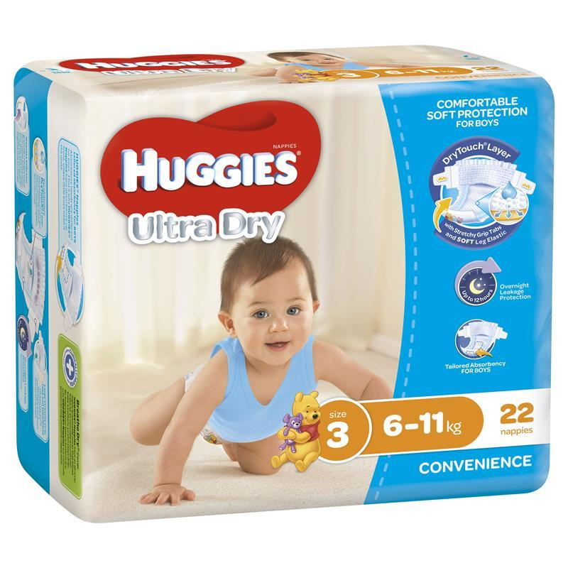 Huggies Convenience Pack Crawler 22 Boy | Tuggl