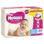 Huggies Convenience Pack Infant 24 Girl