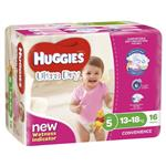 Huggies Convenience Pack Walker 16 Girl