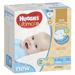 Huggies Jumbo Ultimate Infant Boy 75 Pack