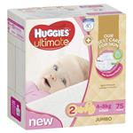Huggies Jumbo Ultimate Infant Girl 75 Pack