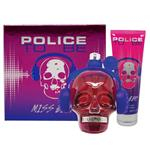 Police To Be Miss Beat Eau de Parfum 75ml 2 Piece Set