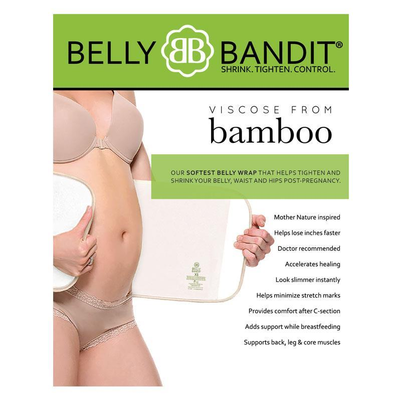 Belly Bandit Bamboo Belly Wrap Nude Medium Online Only | Tuggl